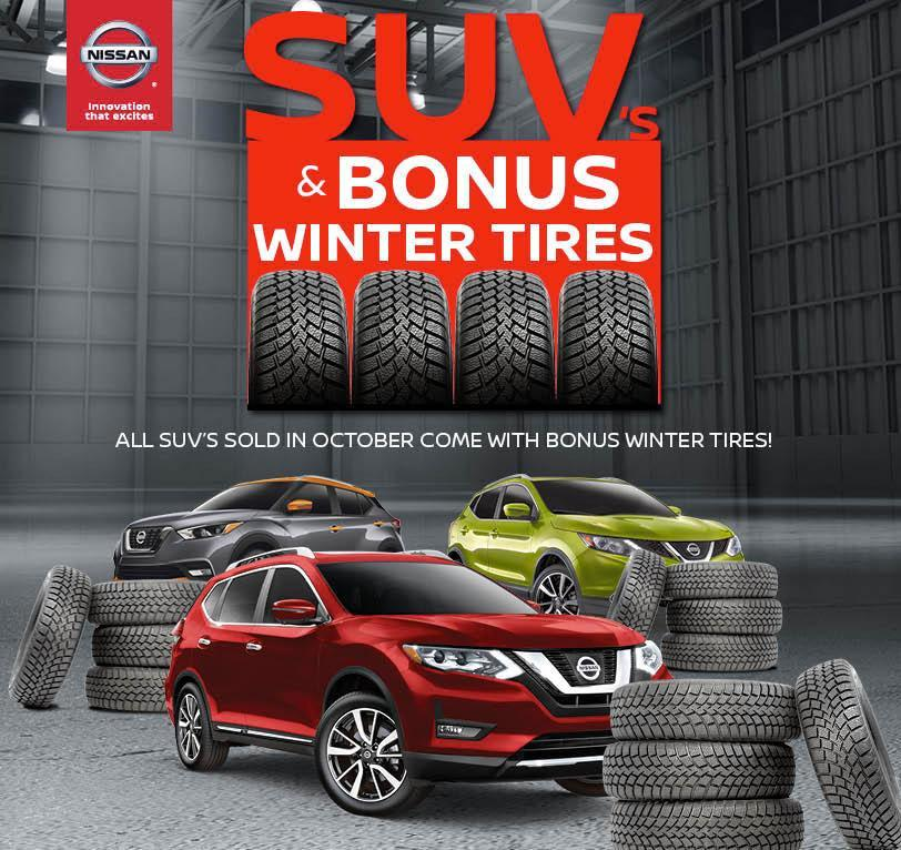 SUVs & Bonus Winter Tires